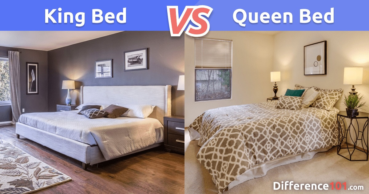 King vs. Queen Bed: What's the Difference Between a King- and Queen-Size Bed?