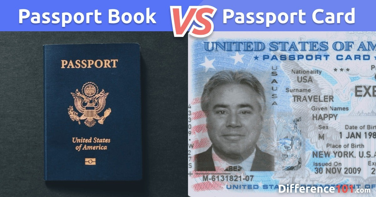 Passport Book vs. Card