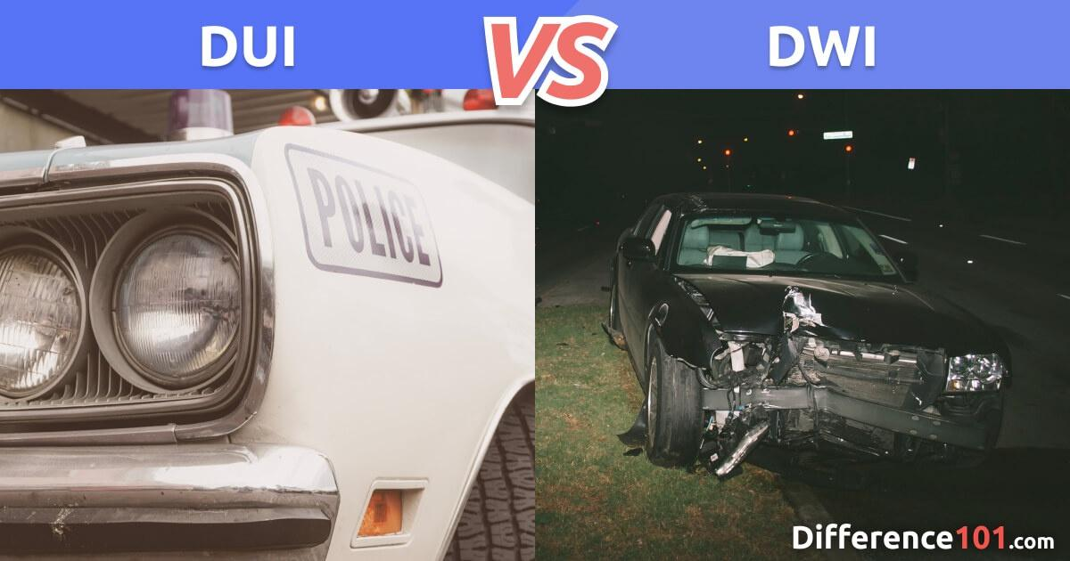 DUI vs. DWI: What's The Difference?