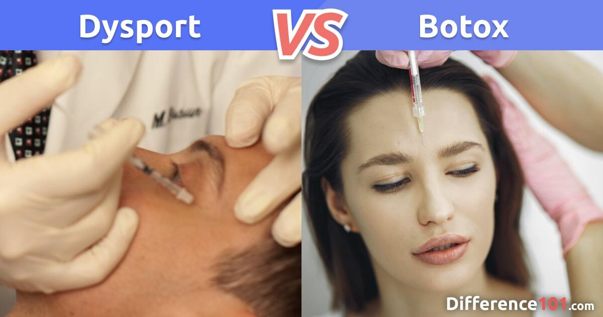 Dysport vs. Botox: What's The Difference?