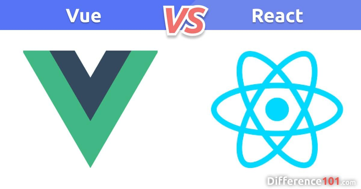 Vue vs. React: What's The Difference?