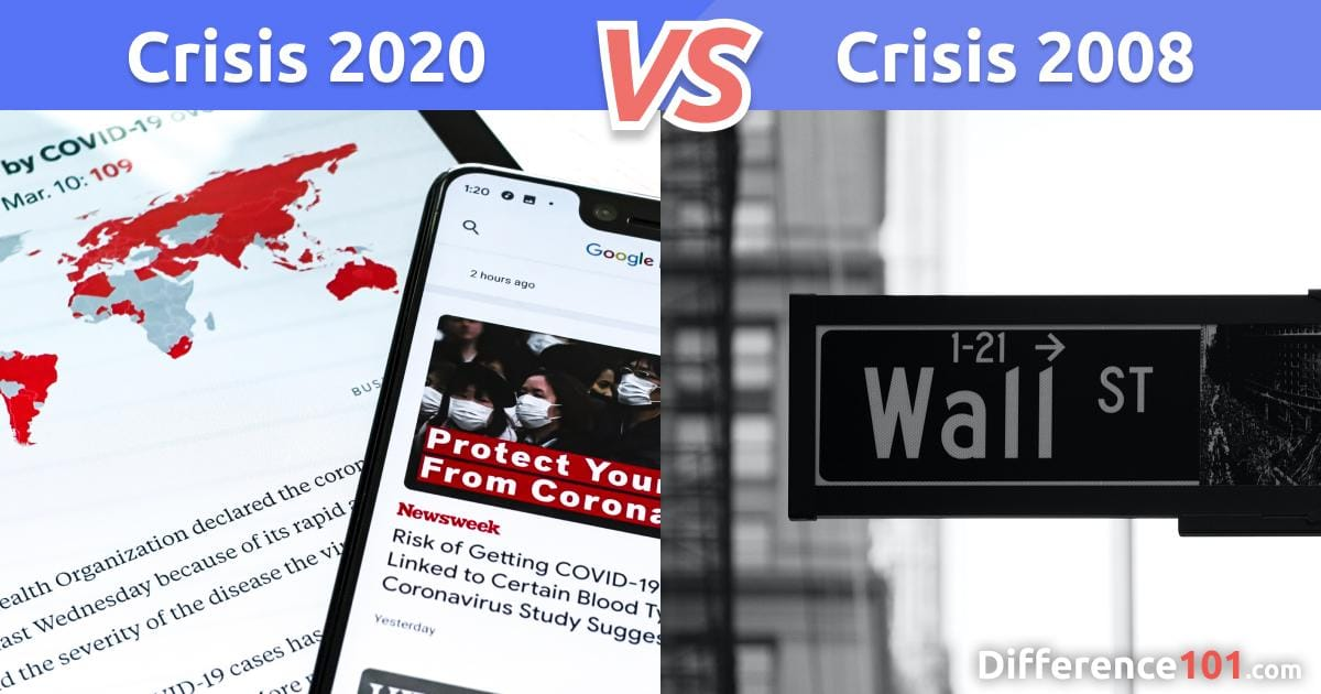 Financial Crisis 2020 vs. 2008: What's The Difference?