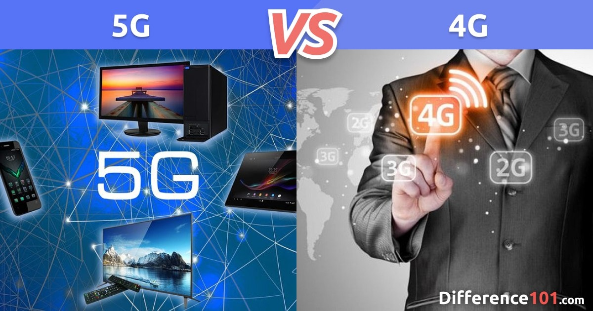 5G vs. 4G: Top 7 Differences, Speed, Pros & Cons