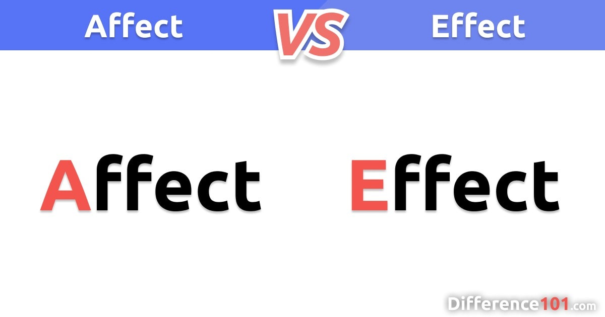 Affect vs. Effect: Top 4 Key Differences and Definitions