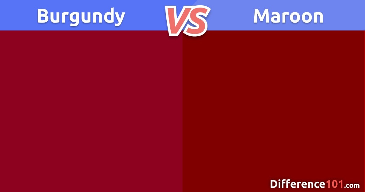 Burgundy vs. Maroon: Color Matching, Differences & Similarities