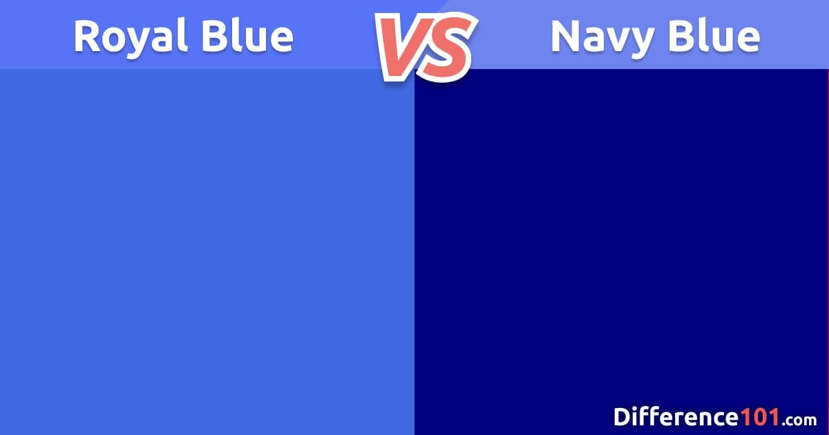 Royal Blue vs. Navy Blue: Differences, Color Matching, Similarities