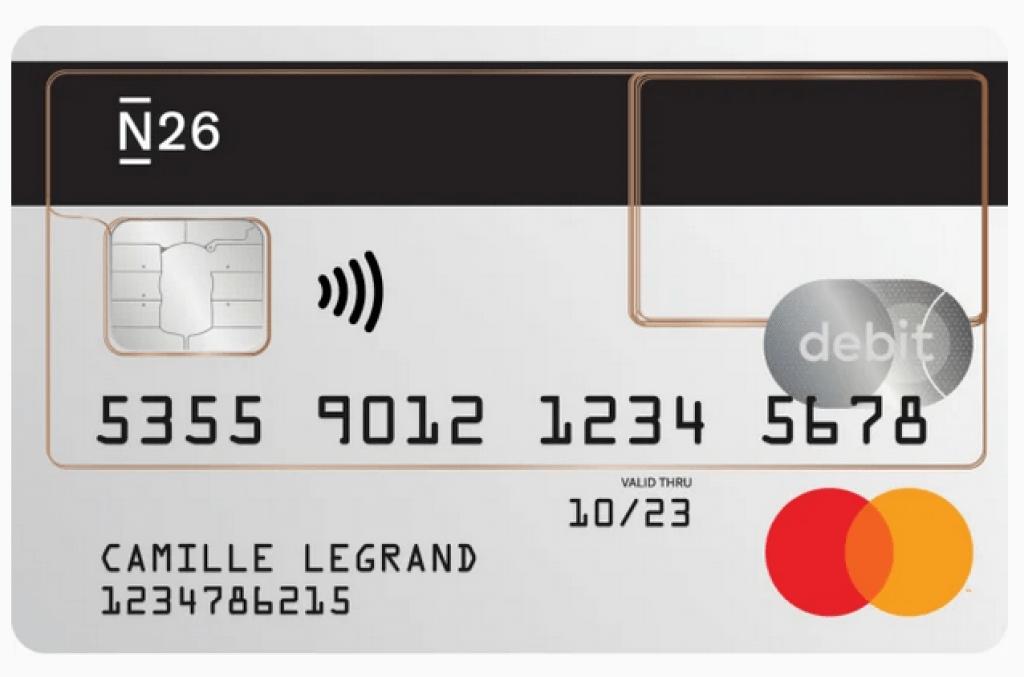 N26 Standard Carte