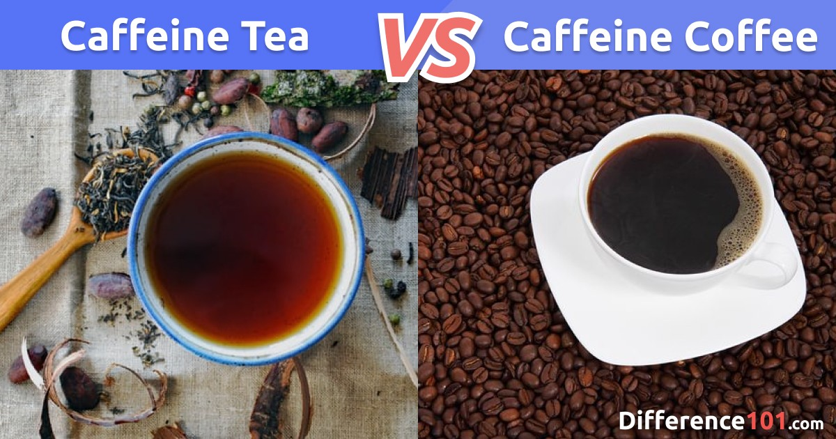Caffeine in Tea vs. Coffee: Differences, Similarities, Pros & Cons