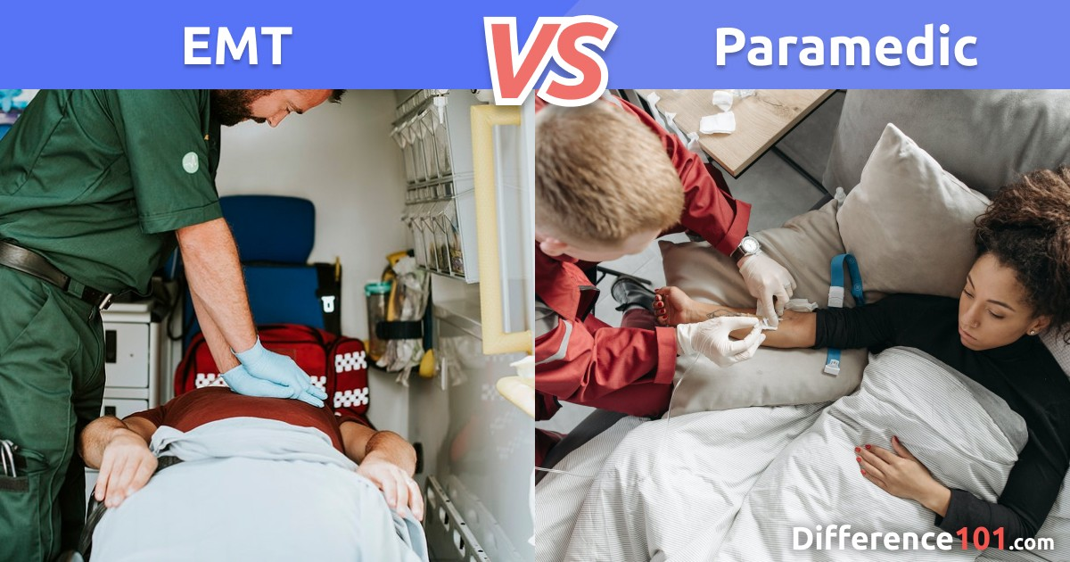 EMT vs. Paramedic: Key Differences, Pros & Cons, FAQ