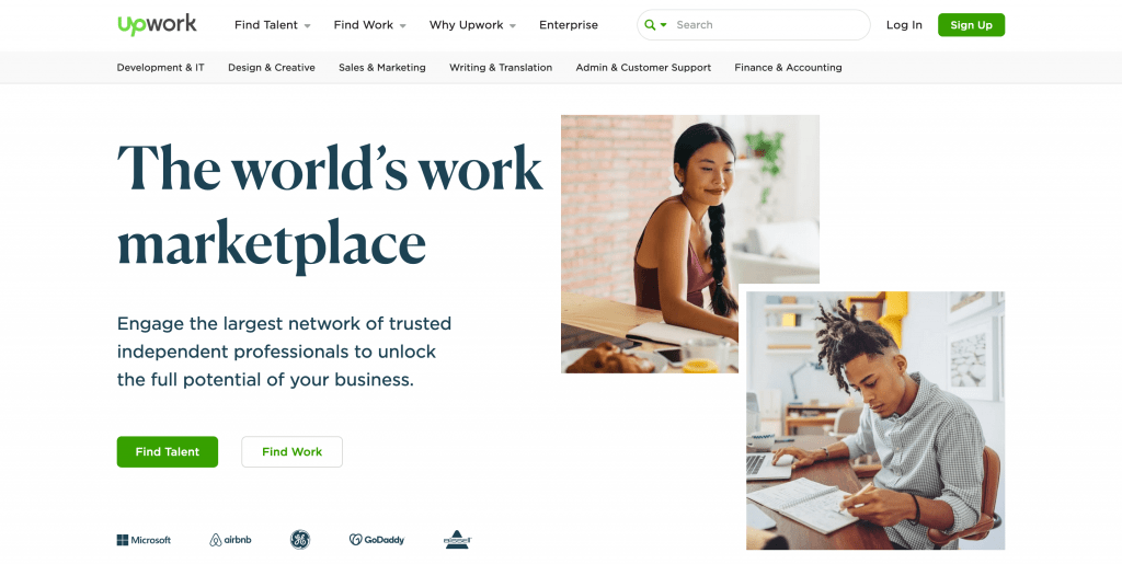 Upwork Home Difference 101