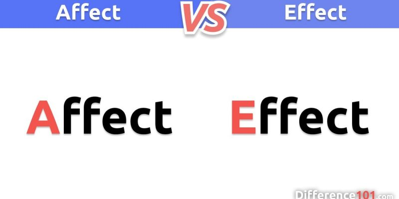 Affect vs. Effect: What is the difference between Affect and Effect?