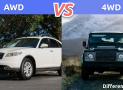 AWD vs. 4WD: What's the difference between AWD and 4WD?