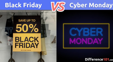 What Is The Difference Between Black Friday And Cyber Monday?