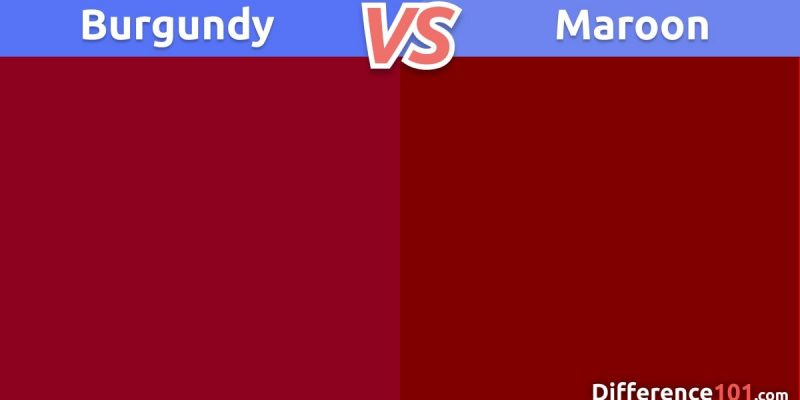 Burgundy vs. Maroon: What's The Difference Between Burgundy And Maroon Colors?
