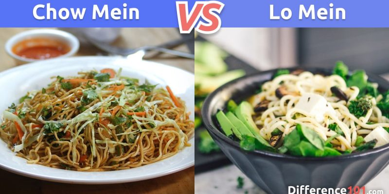 Chow mein vs. Lo mein: What is the difference between Chow mein and Lo mein?