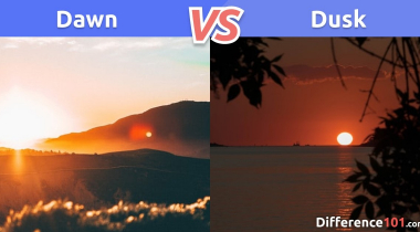 Dawn vs. Dusk: What is the difference between Dawn and Dusk?