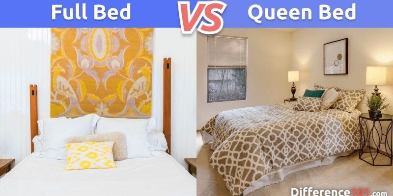 Full vs. Queen-Size Bed: What's The Difference Between a Full- and Queen-Size Bed?