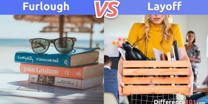 What is the difference between Furlough and Layoff?