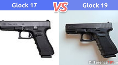 Glock 17 vs. 19: What is the difference between Glock 17 and 19?