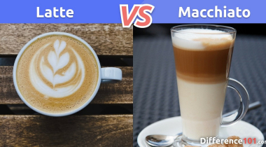 Latte vs. Macchiato: What is the difference between Latte and Macchiato?
