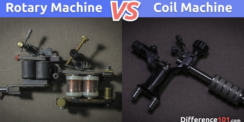 What Is The Difference Between The Rotary vs. Coil Tattoo Machines?