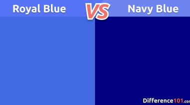 What Is The Difference Between Royal Blue And Navy Blue?